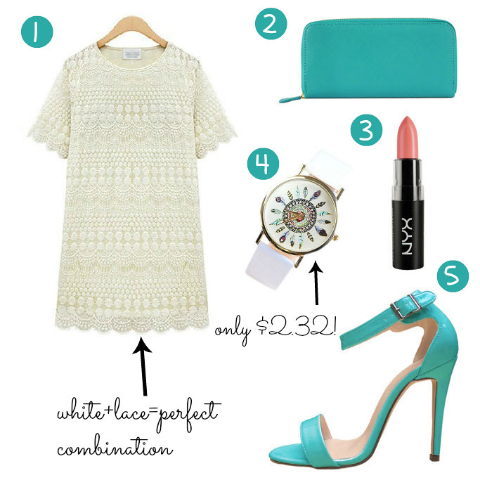ebay-bargains-nyx-lipstick-white-lace-dress-mint-color-accessories