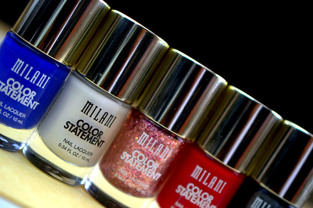 Milani Color Statement nail polishes