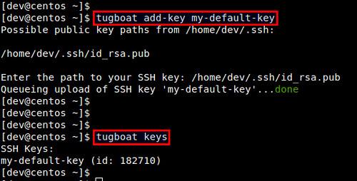 Add SSH Key to DigitalOcean