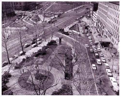 Pennsylvania Avenue NW, Washington, DC, April 1958 (today's site of Freedom Plaza)