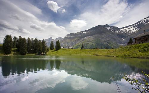 Reflections at Lac Retaud