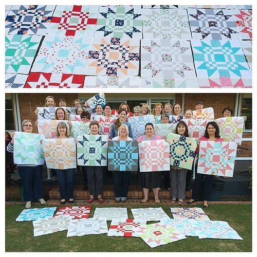 Sorry, just one more. :-) Thank you, Karen and Di for arranging everything! ❤️ @dimill @thequiltersstore #redletteraustralia #quiltabout
