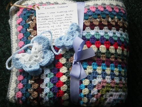 762 'Crochet Cabaret' made by Joanna D.