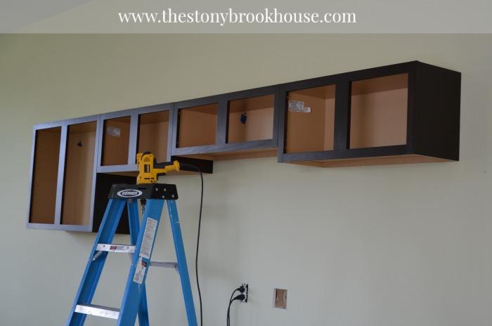Upper Garage Cabinets