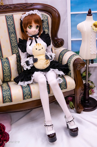 [DDS] Mayu:Sweet maid set Black (4)