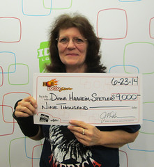 Diana Haaheim-Stetler - $9,000 Hot Lotto