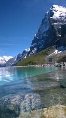 Memorial lake under the #Eiger