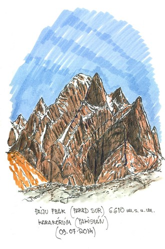 Paiju Peak (6.610 m.s.n.m.). Pakistán