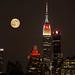 Supermoon Over New York