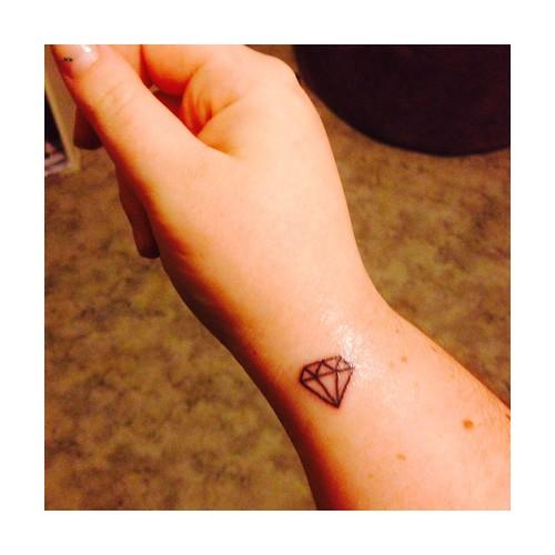 First ink➰ #diamondlife