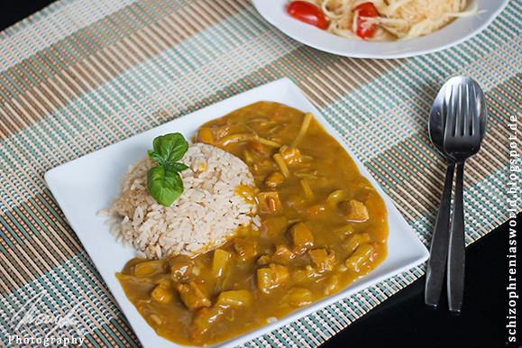 [Instant Food] #3 Kann man das Essen? Curry Huhn