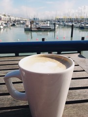Coffee At Brighton Marina