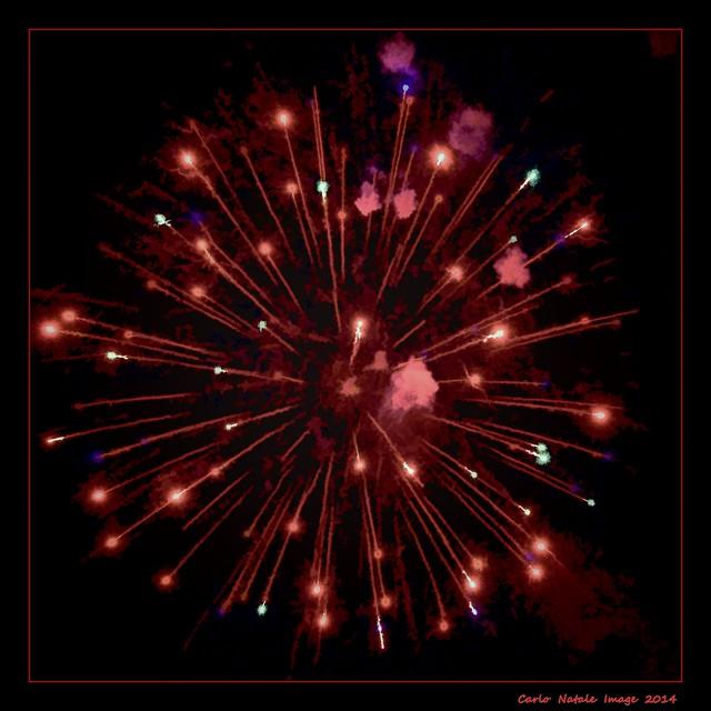 Fireworks in Santa Margherita Ligure 2014 - 01