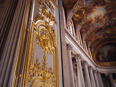 Gilded doors, painted ceilings