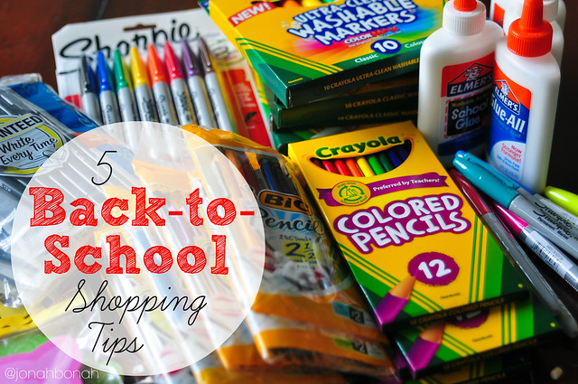 5 Back to School Shopping Tips