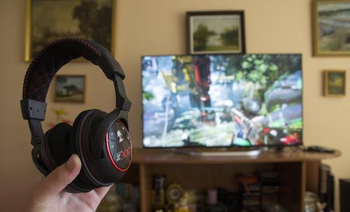 Turtle Beach Ear Force Z300 bevielės PC žaidimų ausinės