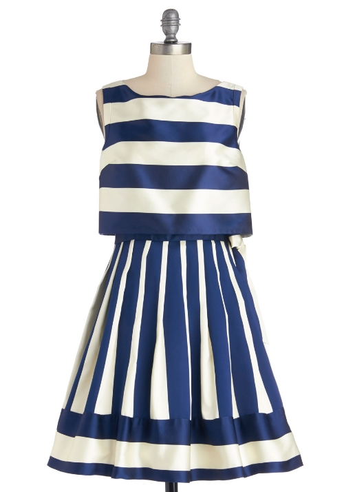 Modcloth Yacht It All Dress