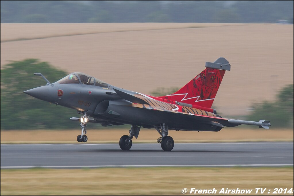 Rafale Solo Display Meeting Aerien BA-133 Nancy Ochey 2014