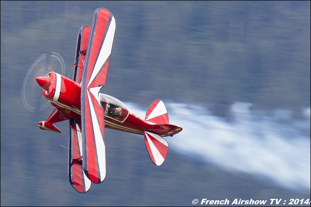Pitts S2B : Jean-Louis Page, Courchevel 2014