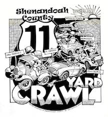 Route 11 Yard Crawl Shenandoah Valley August 9th