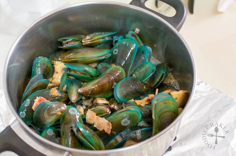 One-Pot Beer Mussels