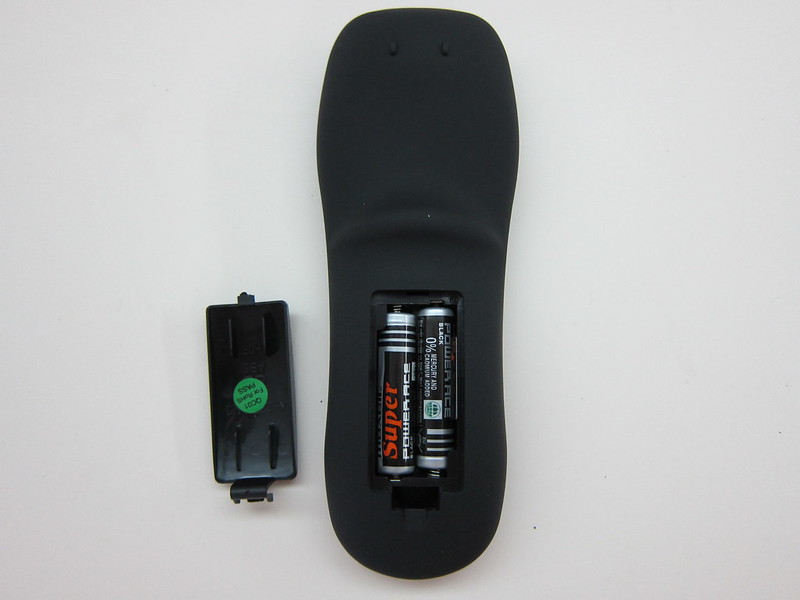 WD TV - Remote Back
