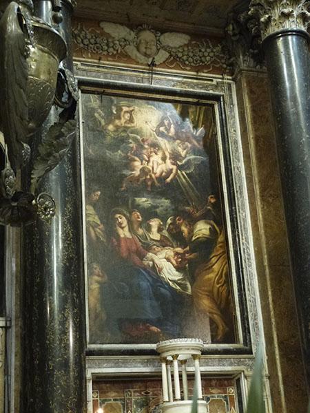 peinture Rubens gesu