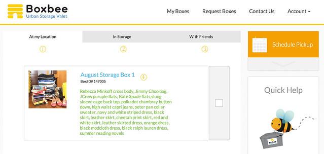 Boxbee website