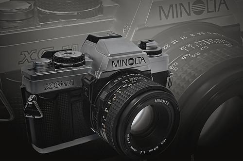 Minolta XG-M 35MM Camera