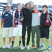 Jermaine Jones with Twitter Contest winners