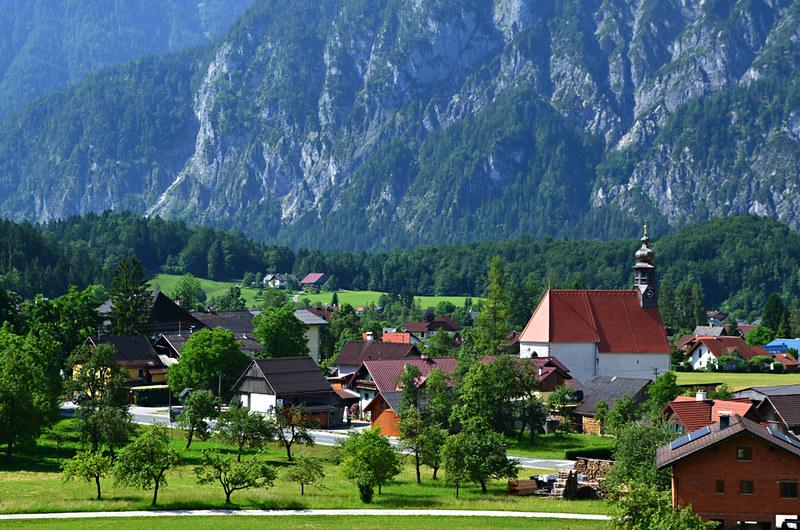 Church, St Agatha, Goisern, Austria