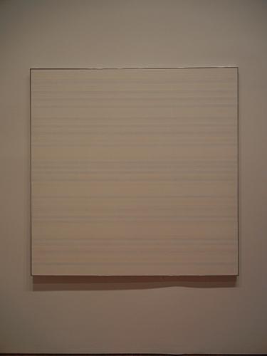 DSCN0033 _ Untitled #2, 1981, Agnes Martin, NGA at De Young