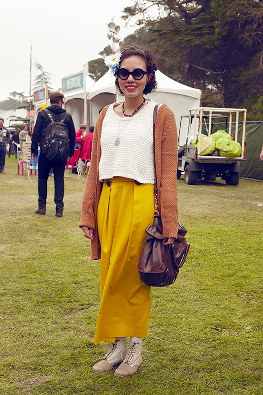 anita Golden Gate Park, outside lands, Quick Shots, street fashion, street style, women