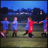"Cord says ""high fives"" are the best cause ""we all play good"". #lifelessons #soccer #growingupfast"