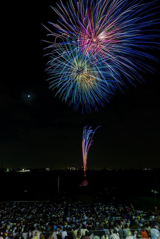 20140811_01_Firework 2014 Matsudo Chiba Japan