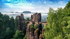 Bastei Brücke Elbsandsteingebirge