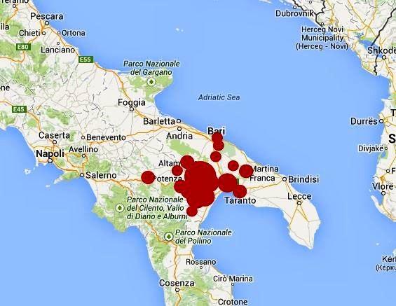 Noicattaro. Terremoto 12 Agosto intero