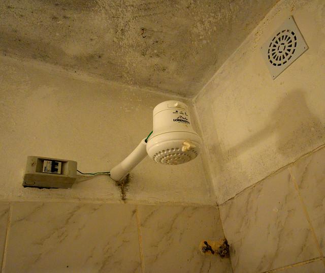 Alcachofa eléctrica para la ducha