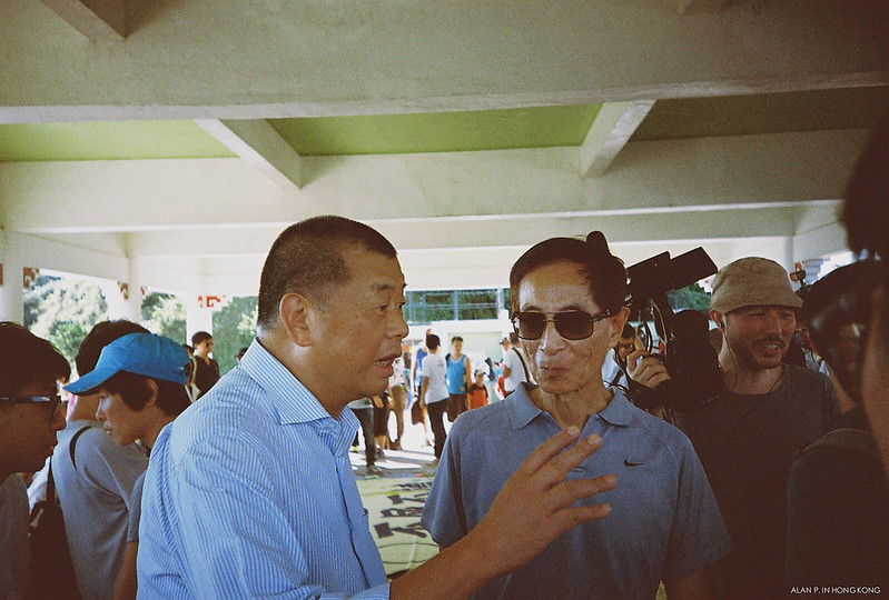 Jimmy Lai + Martin Lee