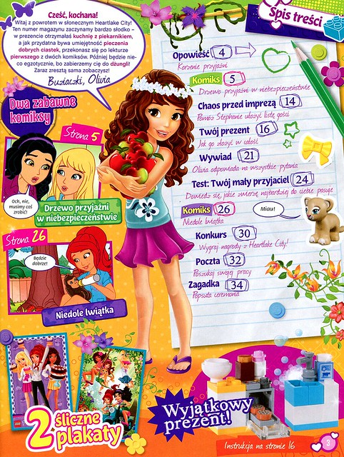 LEGO Friends Magazyn 2014-03-02