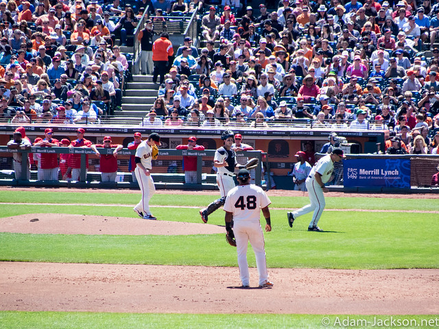 Phillies @ Giants - AT&T Park August 17th