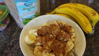 Carob Banana Bowl