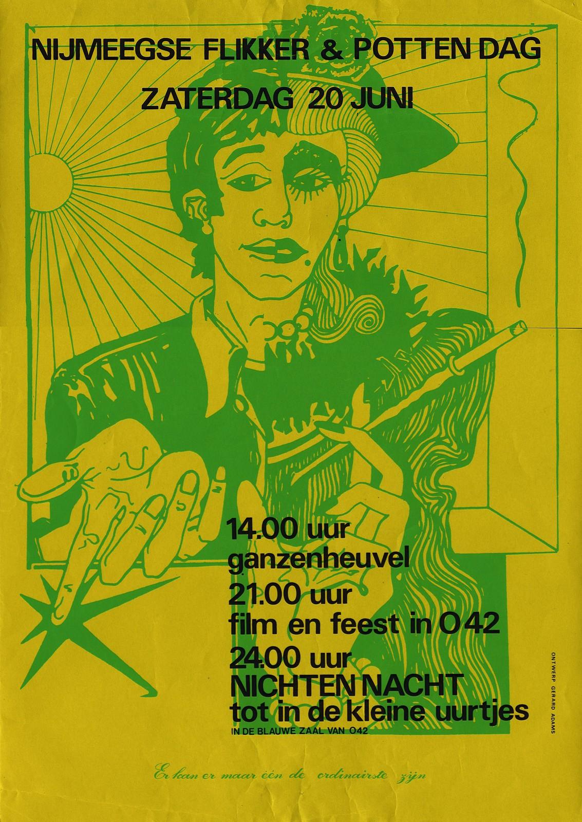 1981 Nijmeegse flikker- en pottendag