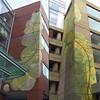 Murals installed by Dana Woulfe and Josh Falk at #kendallcenter #photogrid @photogridorg @danawoulfe @getfalked #murals #streetart #spongepainting #cambridge