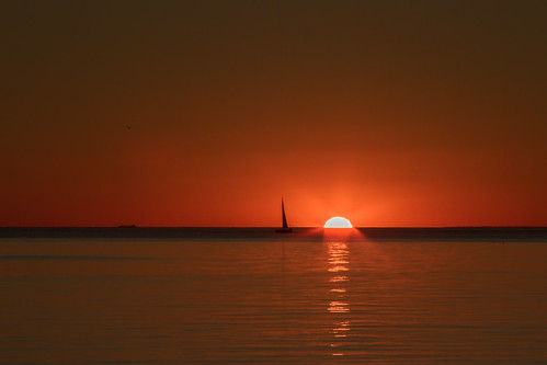 sunset sailboat cove provincetown cape cod herring