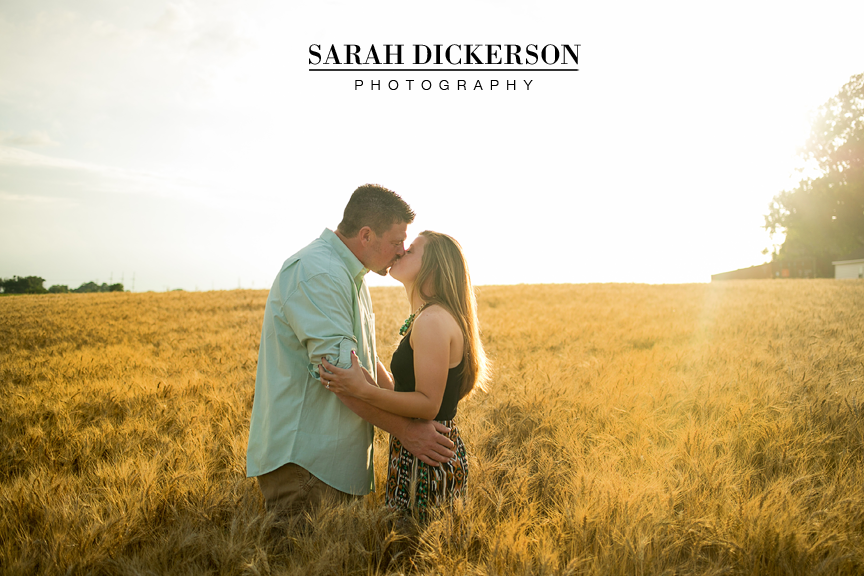 Atchison Kansas engagement photography
