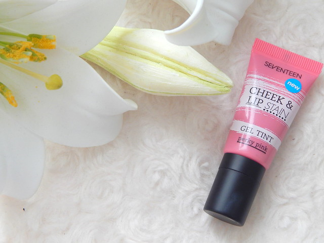 Seventeen Gel Tint Cheek And Lip Stain in Perky Pink