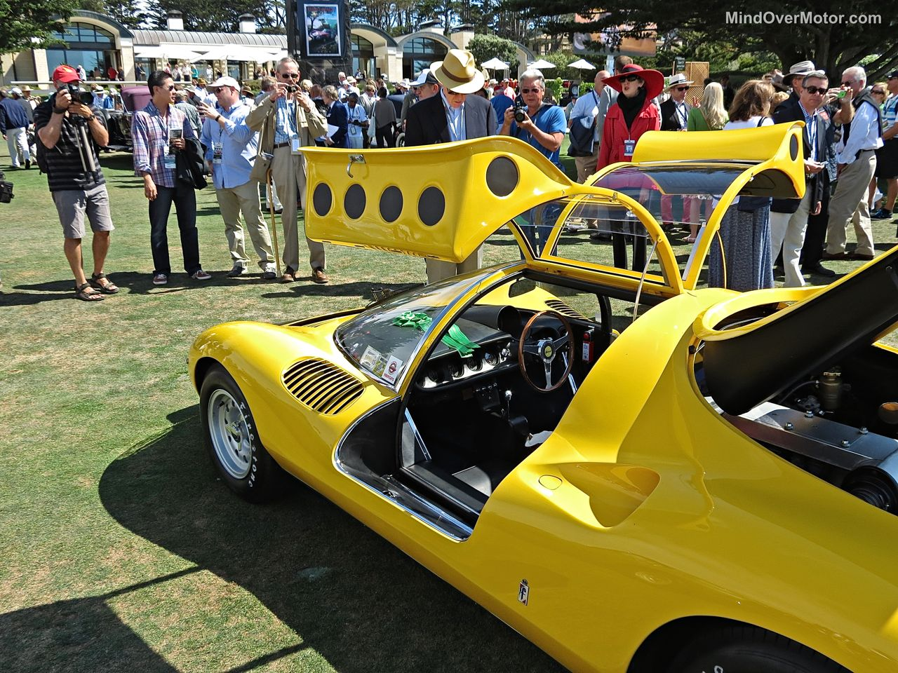 Pebble Beach 2014-Ferrari 206 Dino Competizione