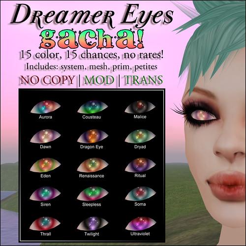 Devae. Dreamer Eyes GACHA!