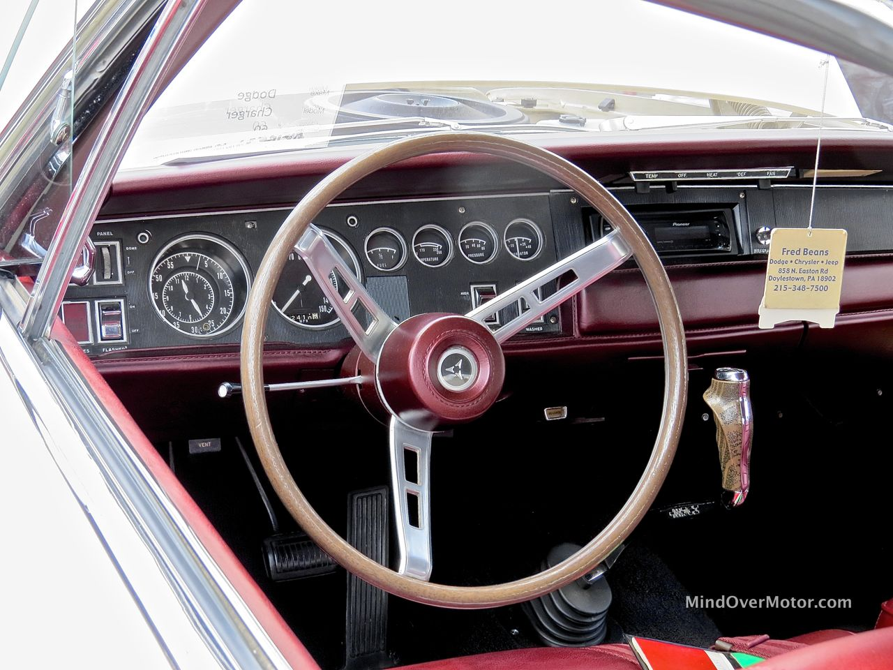 1968 Dodge Charger Interior